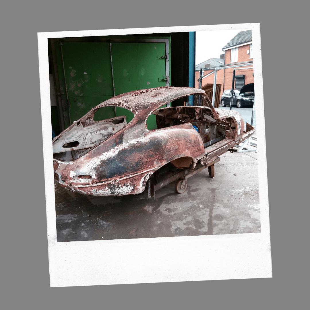 car de-rust stage