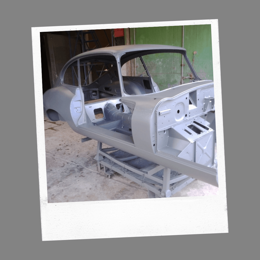 finished vehicle restoration