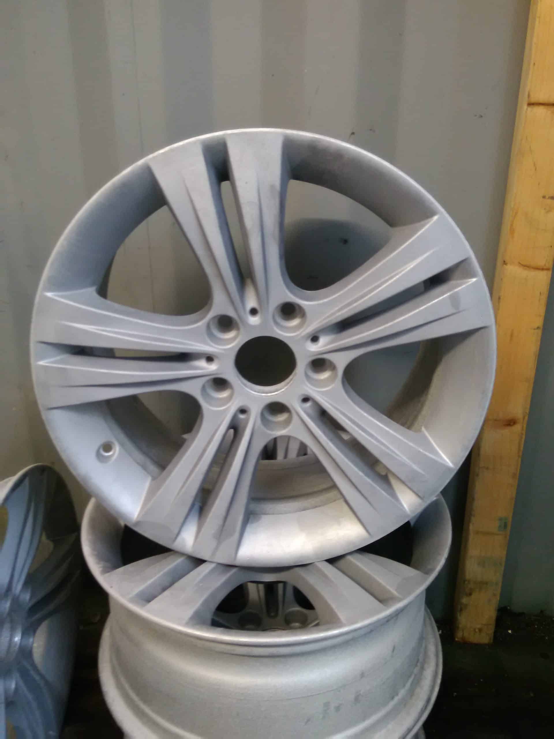 alloy wheel stripping after