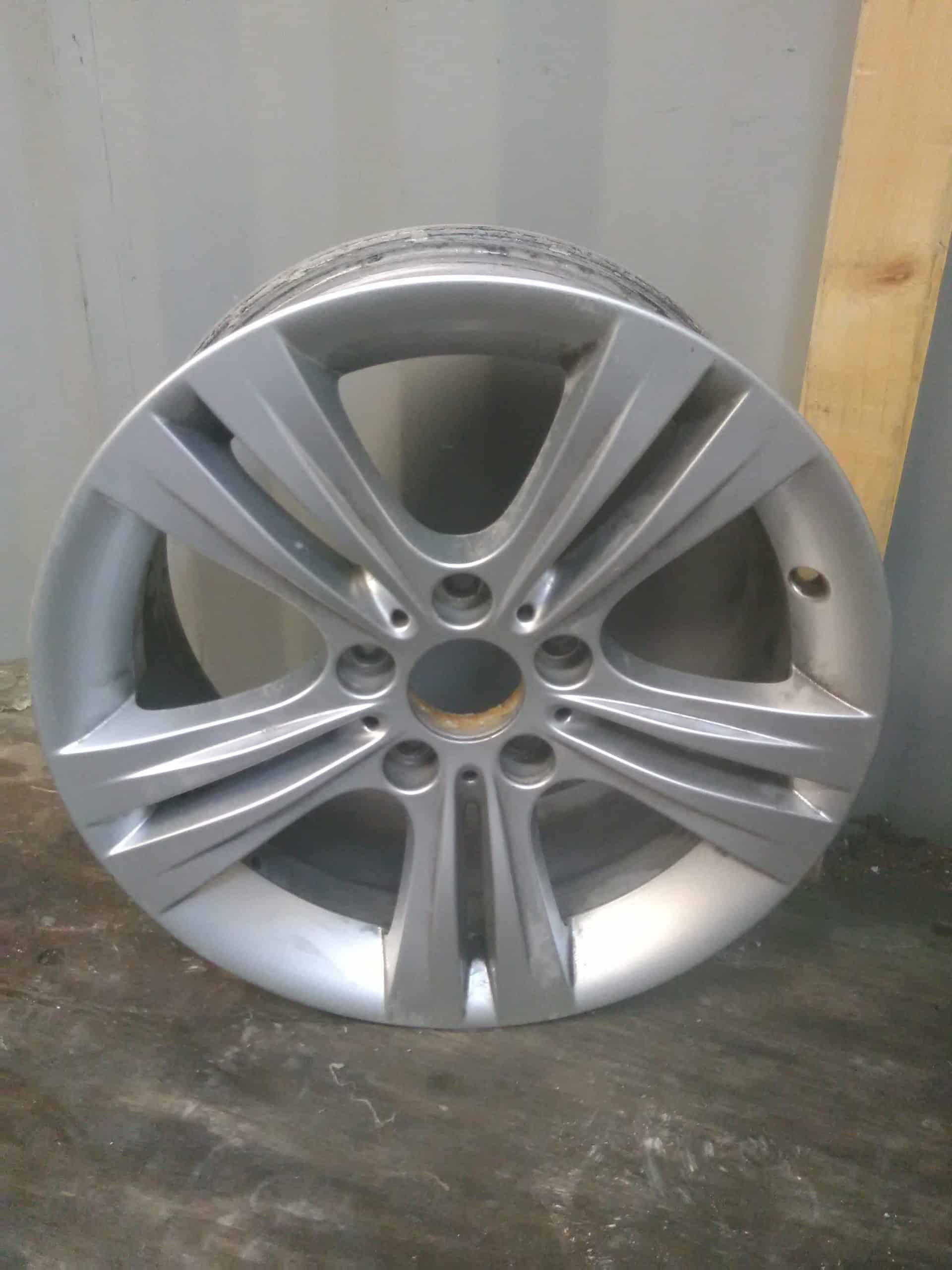 alloy wheel stripping before